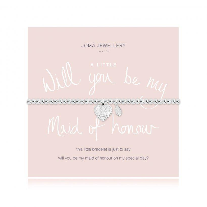 BRACCIALE JOMA JEWELLERY 2104 WILL YOU BE MY MAID OF HONOUR - JOMA JEWELLERY