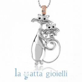 COLLANA LA GATTA GIOIELLI LG08CL - LA GATTA GIOIELLI