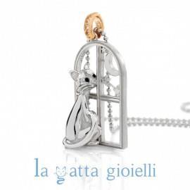 COLLANA LA GATTA GIOIELLI LG17CL - LA GATTA GIOIELLI