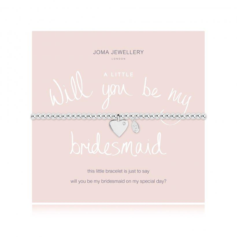 BRACCIALE JOMA JEWELLERY 2110 WILL YOU BE MY BRIDESMAID - JOMA JEWELLERY