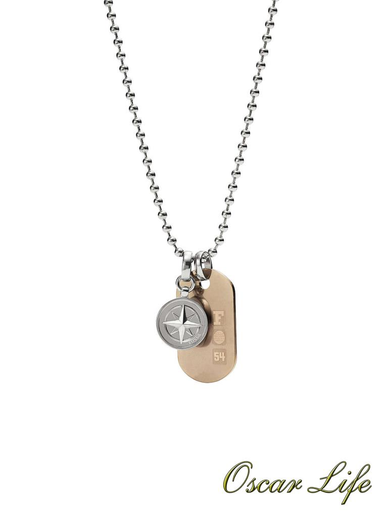 COLLANA FOSSIL JF02762998 - FOSSIL