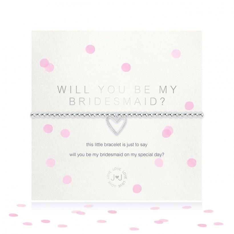 BRACCIALE JOMA JEWELLERY 3488 WILL YOU BE MY BRIDESMAID - JOMA JEWELLERY